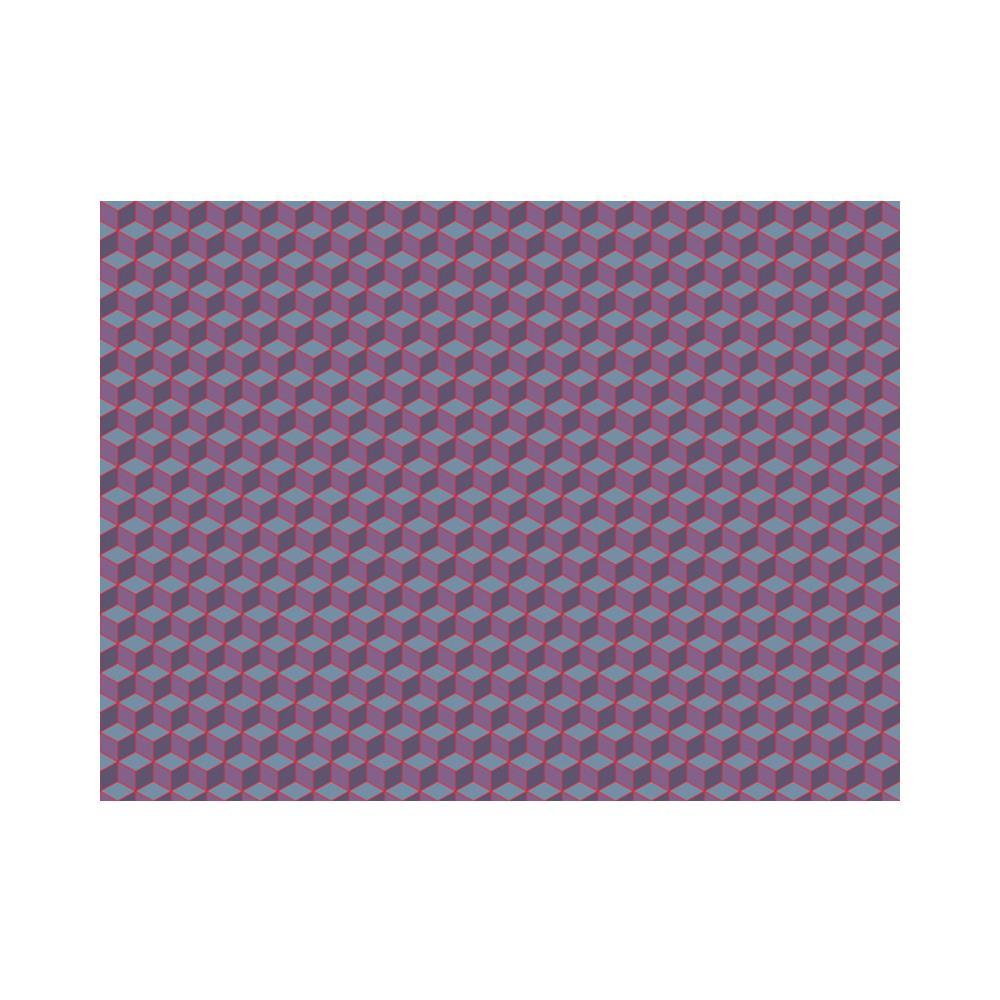 Carta Da Parati E Bordi.Erroi Carta Da Parati Fotomurale Cubi Dai Bordi Rossi 300x231cm