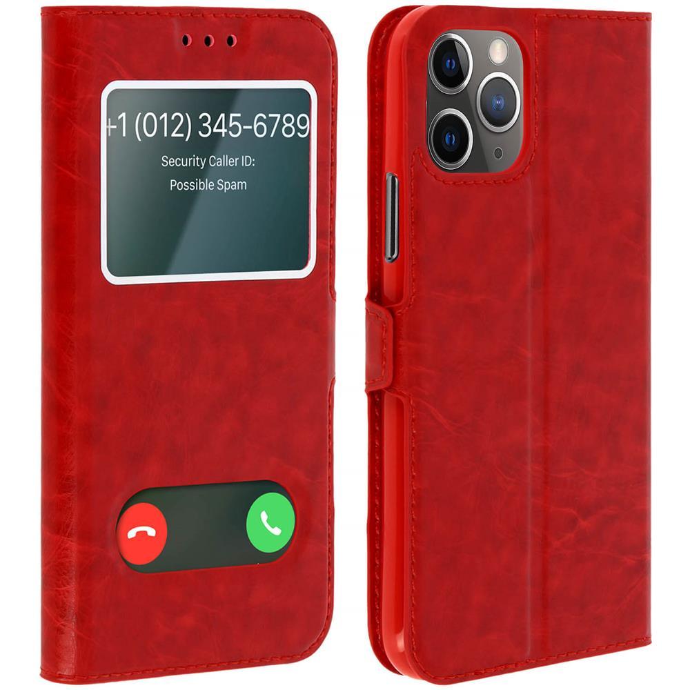 iPhone 5 Accessori: Custodia con sportellino per iPhone 5 rossa