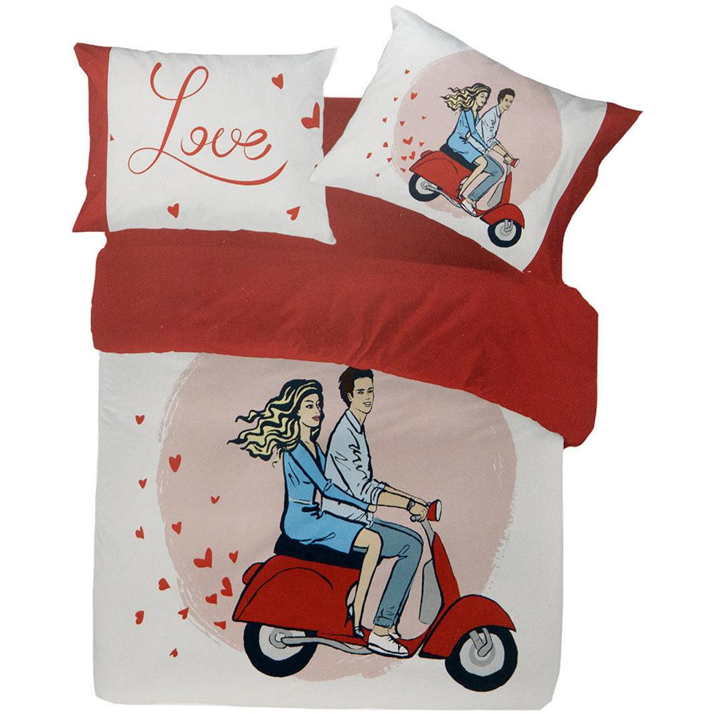 Pierre Cardin Completo Lenzuola Vespa Di Pierre Cardin Stampa Digitale 4d Matrimoniale R098 Eprice