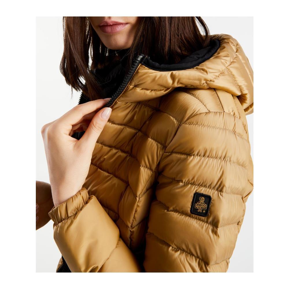 REFRIGIWEAR Giubbino Piumino Donna Refrigiwear Mead W97600 K09350 Piuma Original Ai 2020 New Taglia M Colore Oro