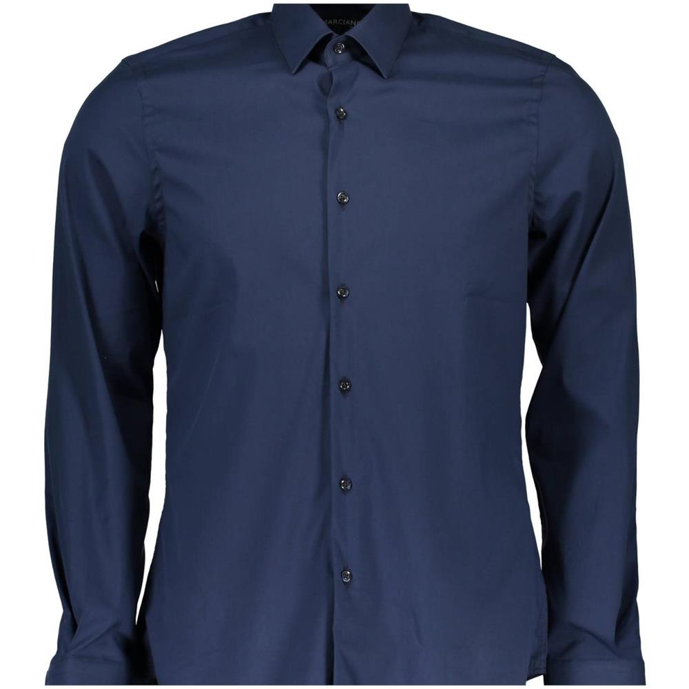 free shipping bd9aa 4a0bd GUESS By Marciano Camicia Uomo Blu M