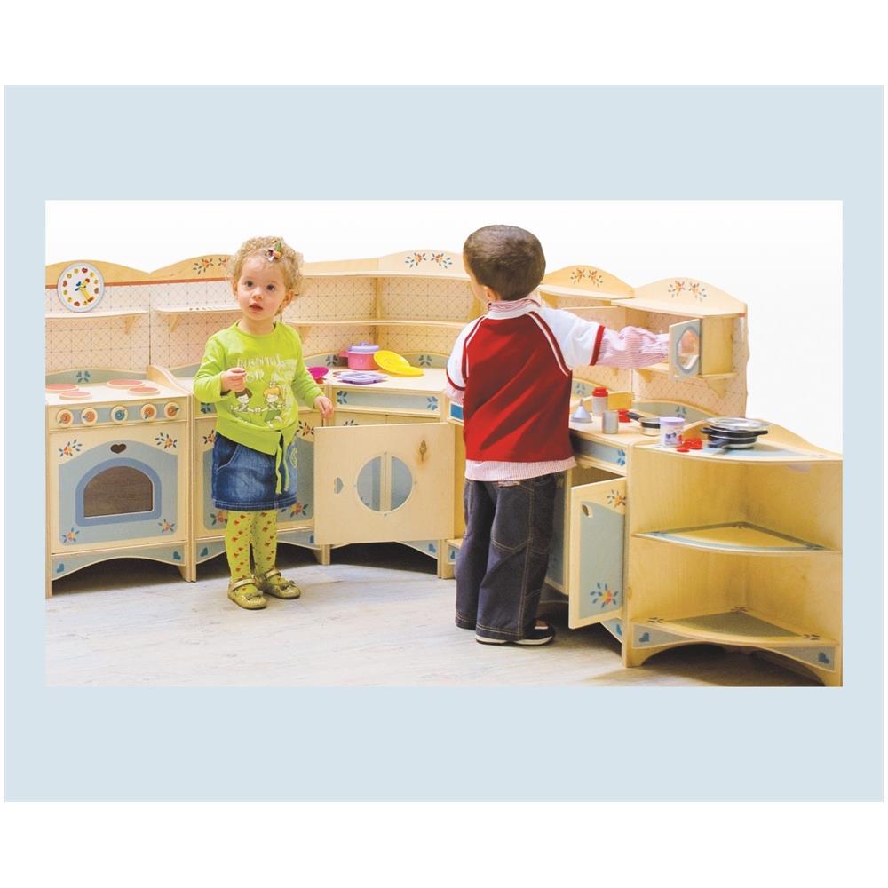 DIDA - Cucina Gioco 9 Pz - Cucina Giocattolo Componibile Set Di 9 ...