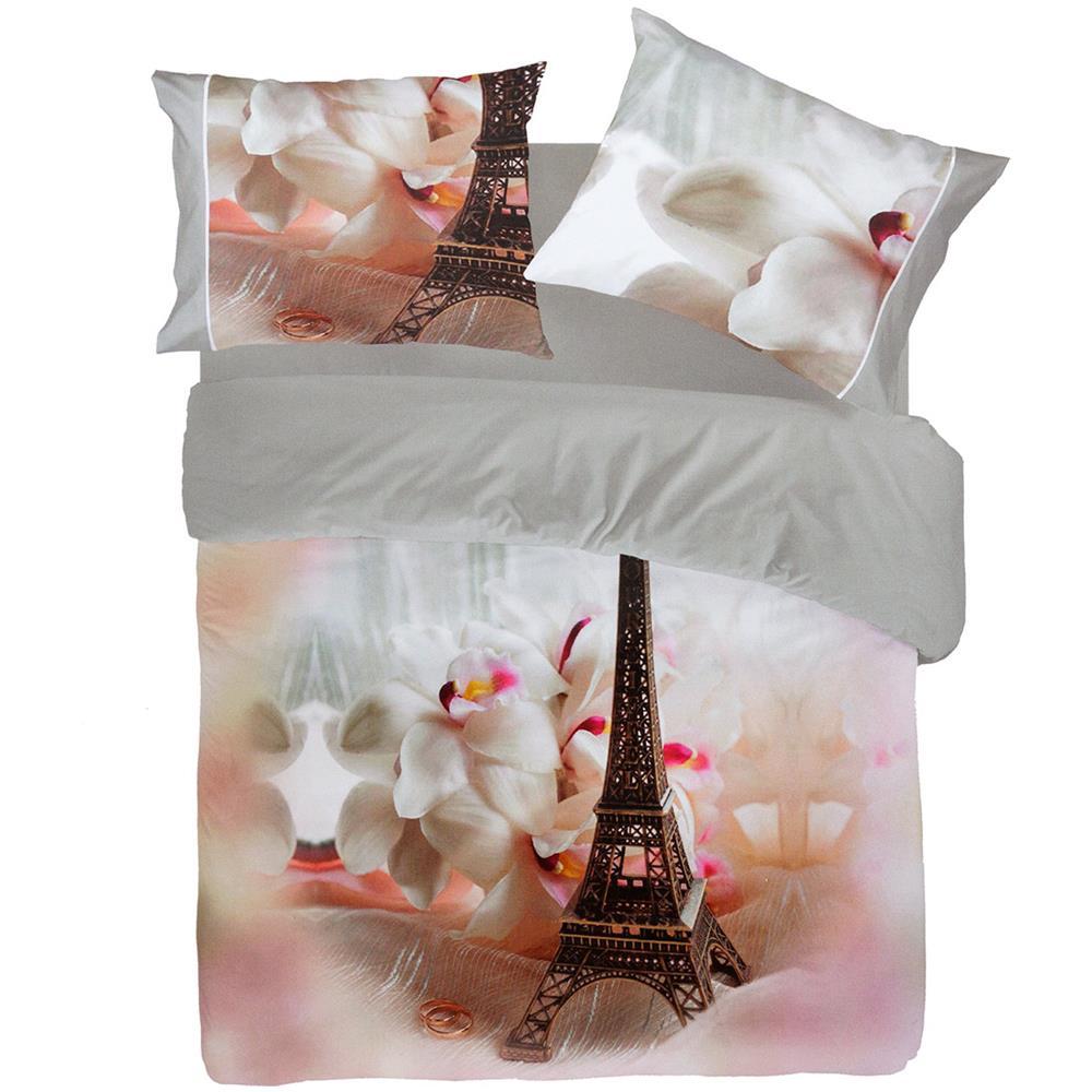 Lenzuola Matrimoniali Pierre Cardin.Pierre Cardin Completo Lenzuola Love Paris Di Pierre Cardin