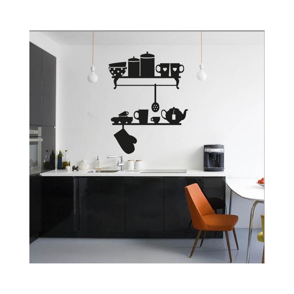 Adesiviamo Mensole Cucina - Adesivo da parete Vinyl Wall Stickers Decals