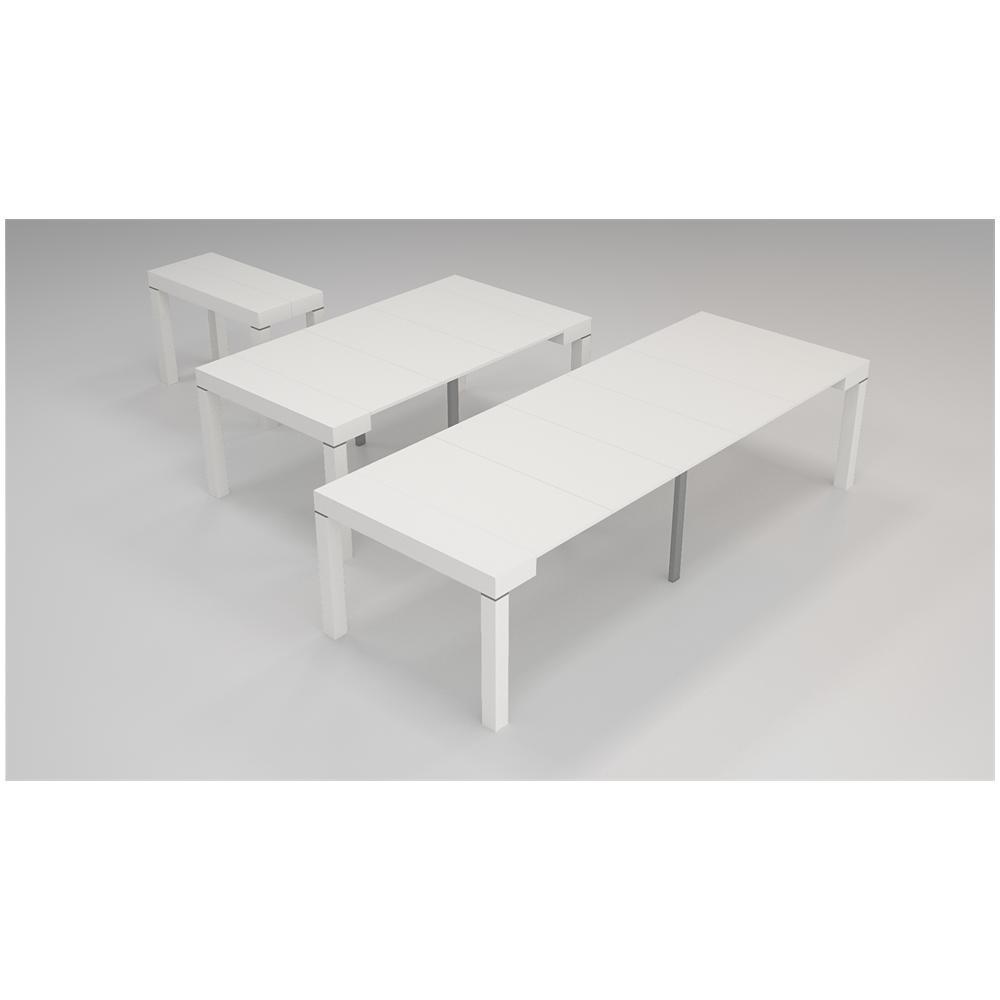 Eglemtek - Tavolo consolle allungabile \'Paris\' fino a 3 metri colore ...