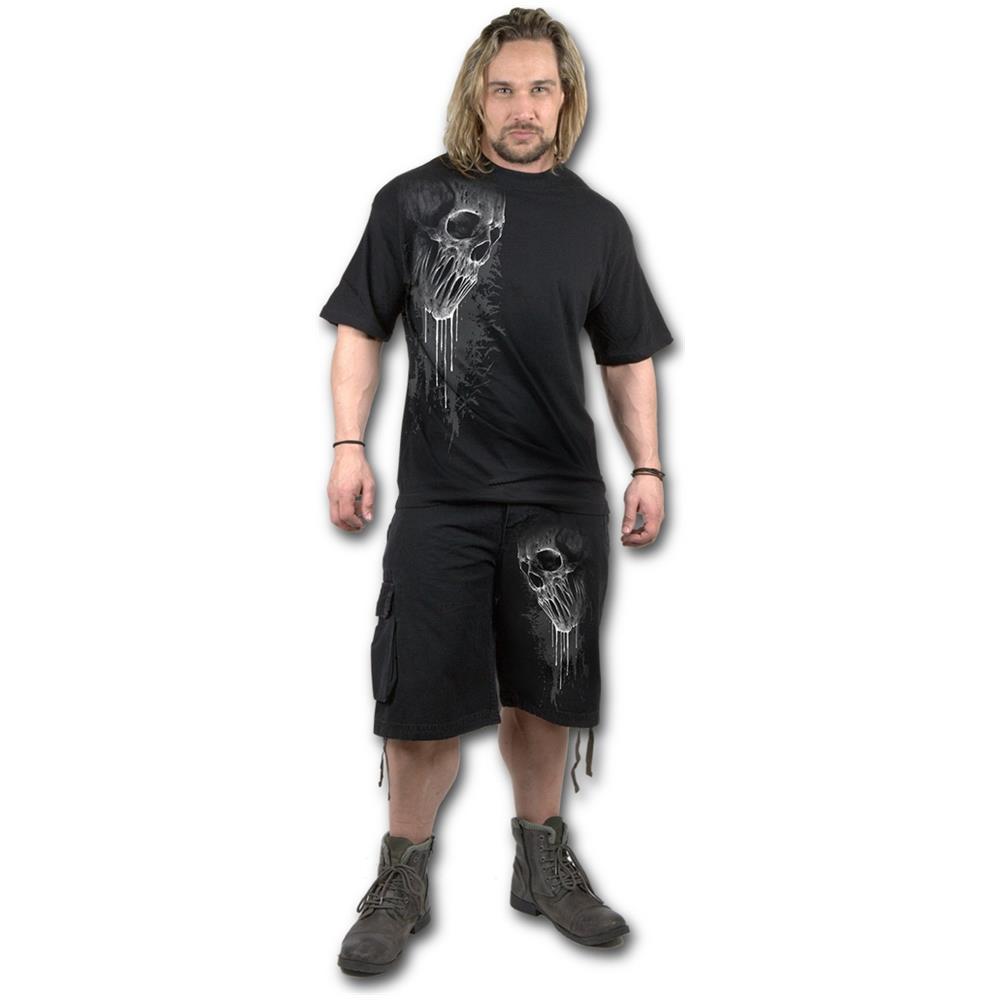 - Bat Curse - Vintage Cargo Black (Pantaloni Corti Unisex Tg. XL)
