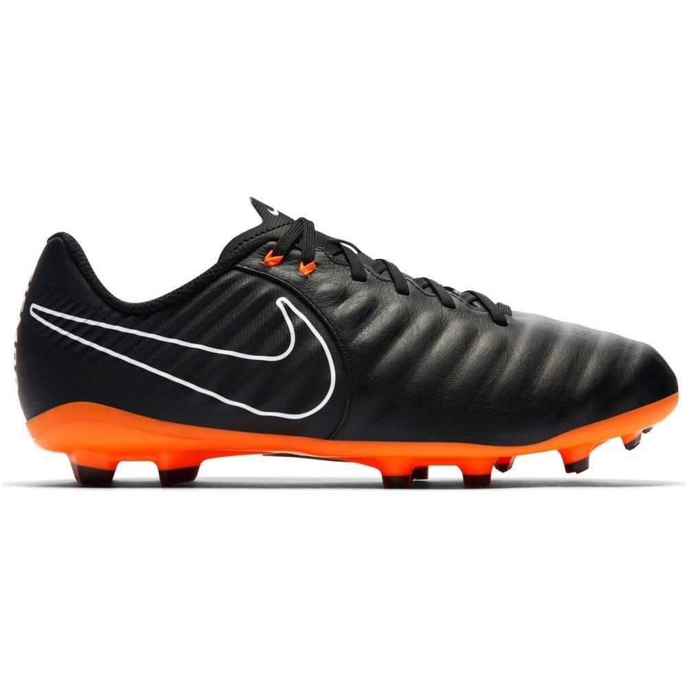 NIKE Scarpe Calcio Bambino Nike Tiempo Legend Academy Fg Fast Af Pack Taglia 38 Colore: Nero arancio