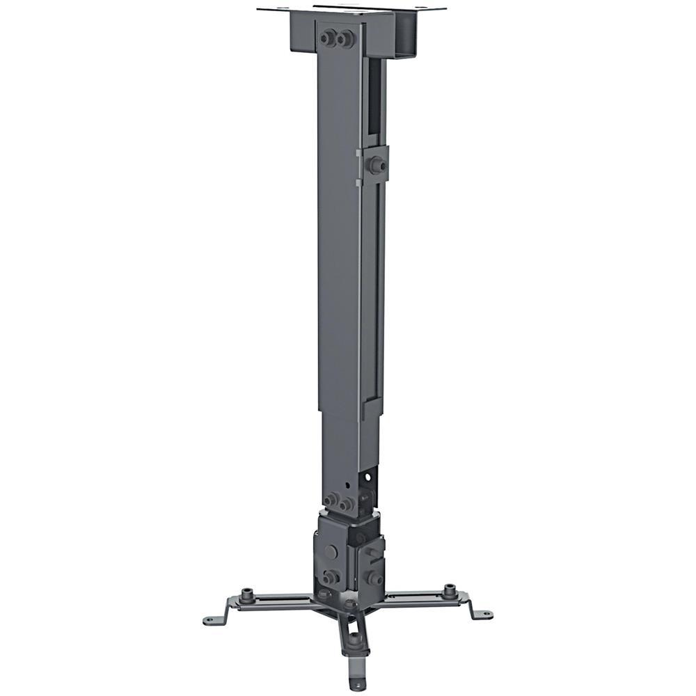 ICA-PM 16B - Staffa Universale a Parete-Soffitto per Proiettori Estensione 43-65 cm