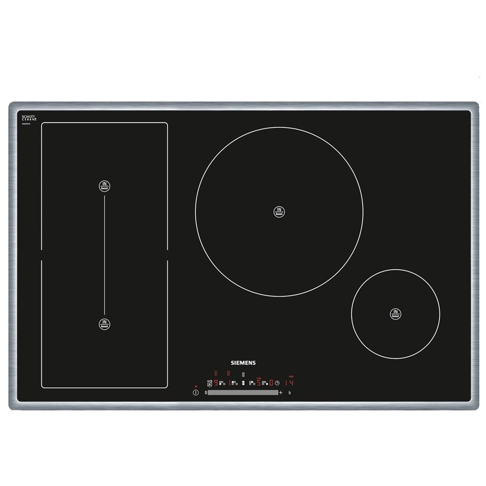 SIEMENS - Piano Cottura EH845FT17E a Induzione 4 Zone Cottura da 80 ...