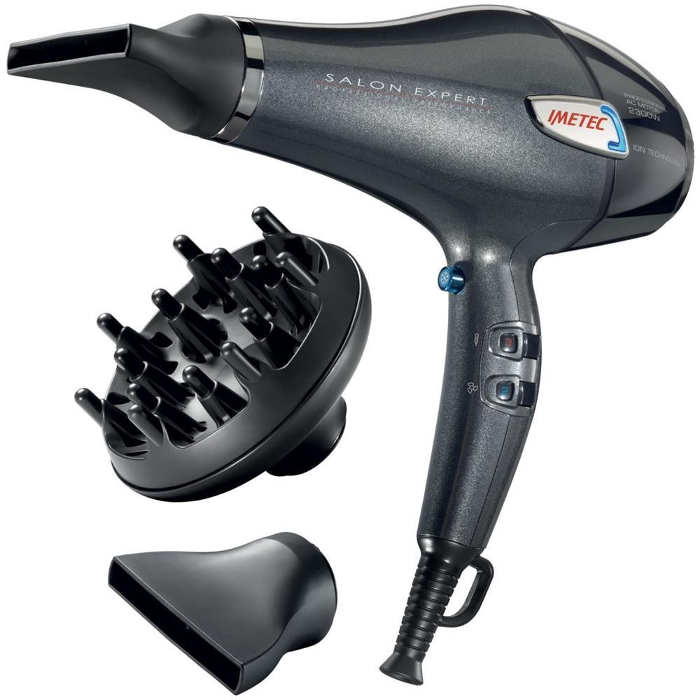 IMETEC Asciugacapelli Professionale Salon Expert P5 3600 Potenza 2300 Watt