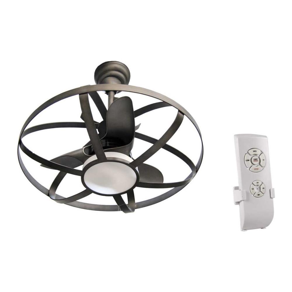 Lampadario Con Strisce Led argonauta lampadario con ventilatore a led e telecomando cm 86
