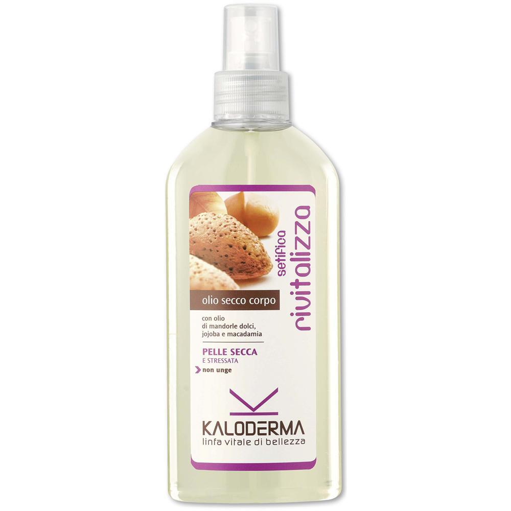 olio secco spray per il corpo tisana detox tisanoreica