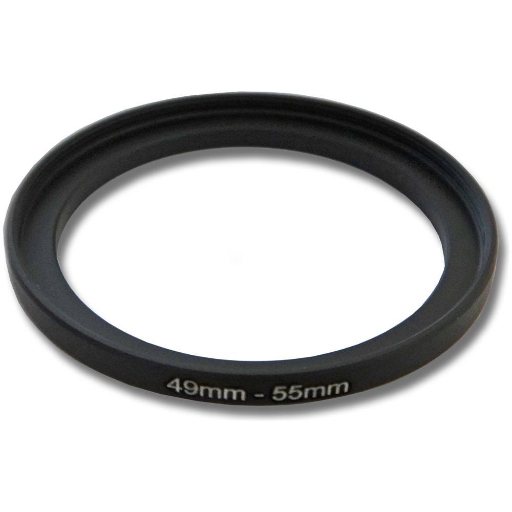 58mm per Olympus Panasonic Step Up Adattatore del filtro metallo vhbw 43mm
