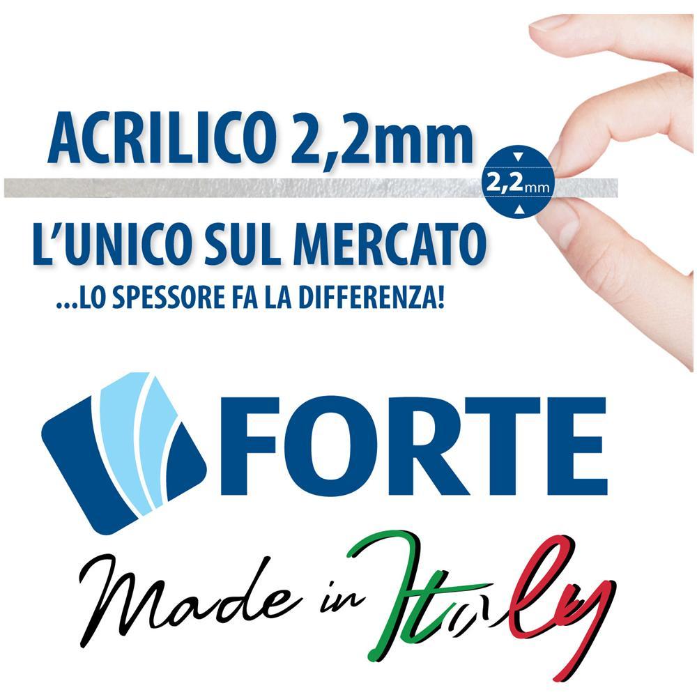 Forte - Box Doccia 70x70 Cm In Acrilico Mod. giove Con Apertura A ...
