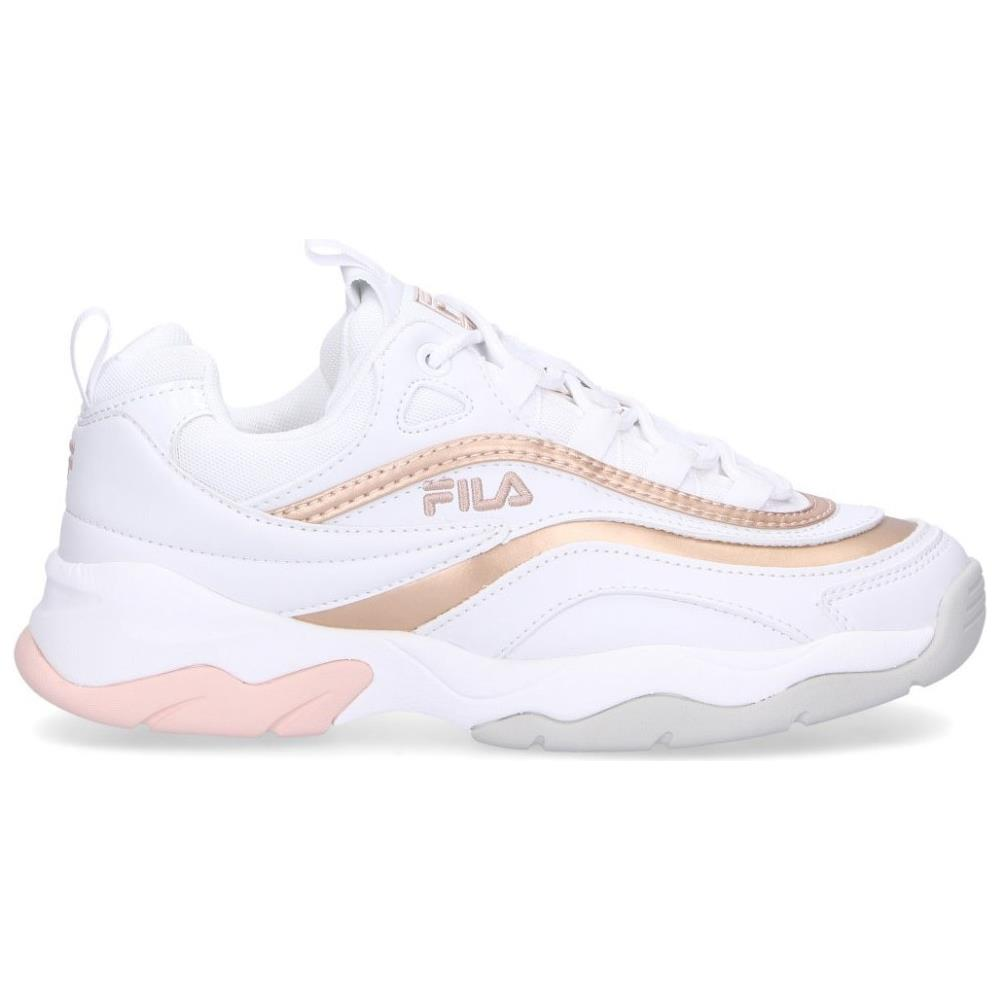 Ray 5 F 10 Scarpe Low Fila Oro Donna Taglia ColoreBianco Nnm80wOv