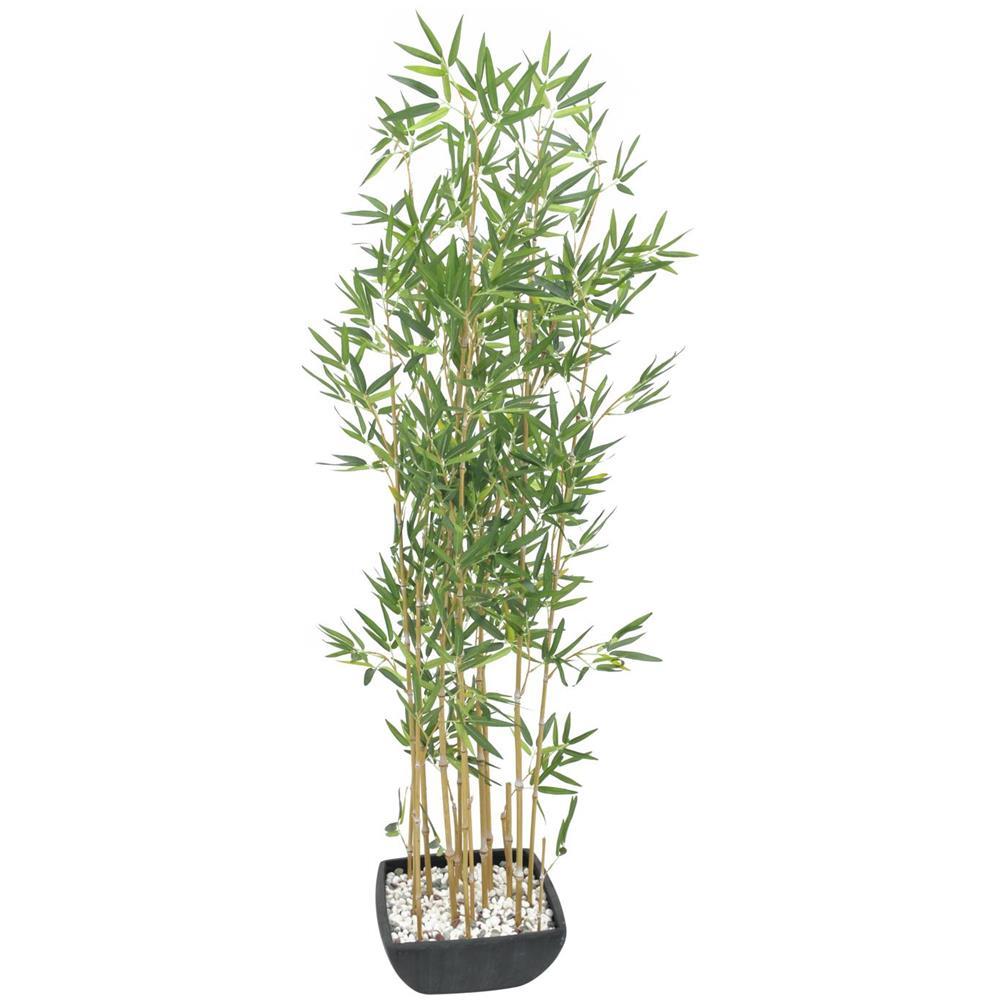 Vendita Piante Bambu Milano.Europalms Pianta Artificiale In Plastica Di Bambu Con Vaso 150cm