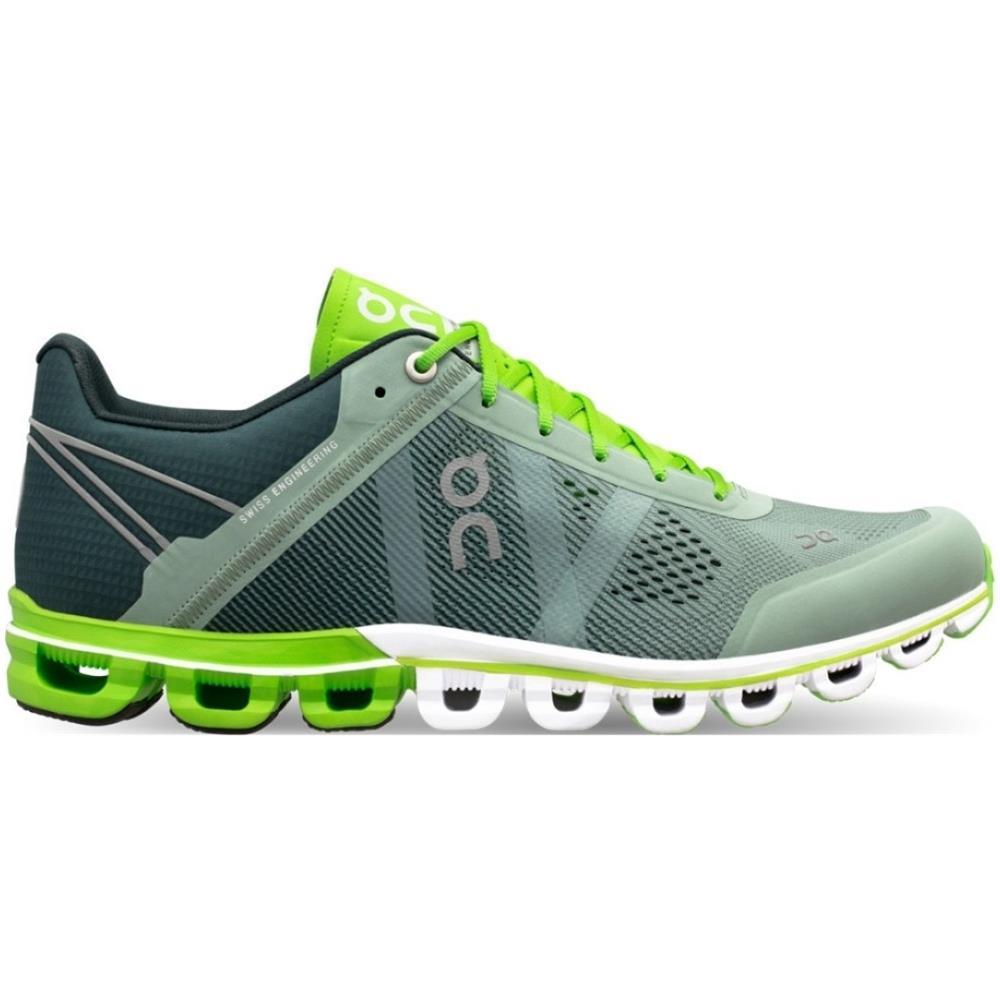46af3e01f69e4d ON Scarpe Uomo Running Cloudflow A3 Neutra Taglia 47 - Colore: Grigio /  verde