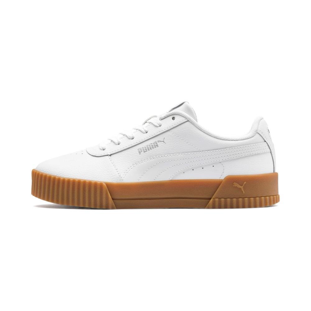 Puma Scarpe Sneakers Donna Puma Carina L 370325 07 Pelle Originale Ai 2020 New Taglia 39 Colore Bianco