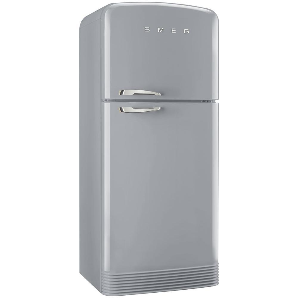 Frigo Smeg Anni 50 Piccolo smeg frigorifero doppia porta fab50rsv linea anni '50 no frost classe a++  capacità netta totale 412 litri colore grigio metallizzato