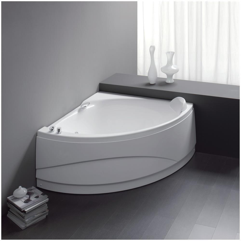 Vendita Vasche Da Bagno Milano.Aqualife Vasca Da Bagno Angolare 133x133 Semicircolare