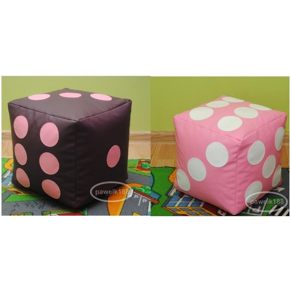 Poltrone Sacco E Pouf.Italpol Produkt Pouf Set Di 2 Cubi Dadi Poltrona Sacco In