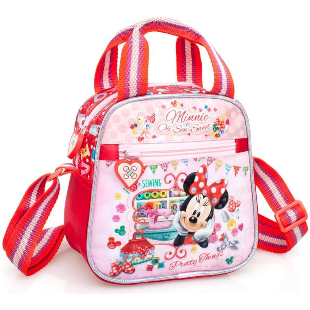 c55fc5ff4da5d7 Arcamania - Borsetta A Tracolla Borsa A Mano Disney Minnie Mouse Per  Bambine - ePRICE