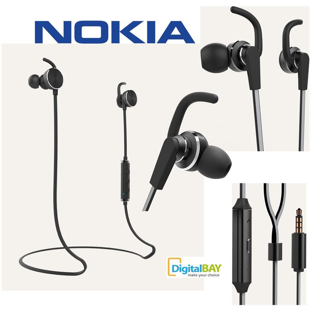 ed657380ecf NOKIA - Active Wired Earphones WH-501 Black - ePRICE