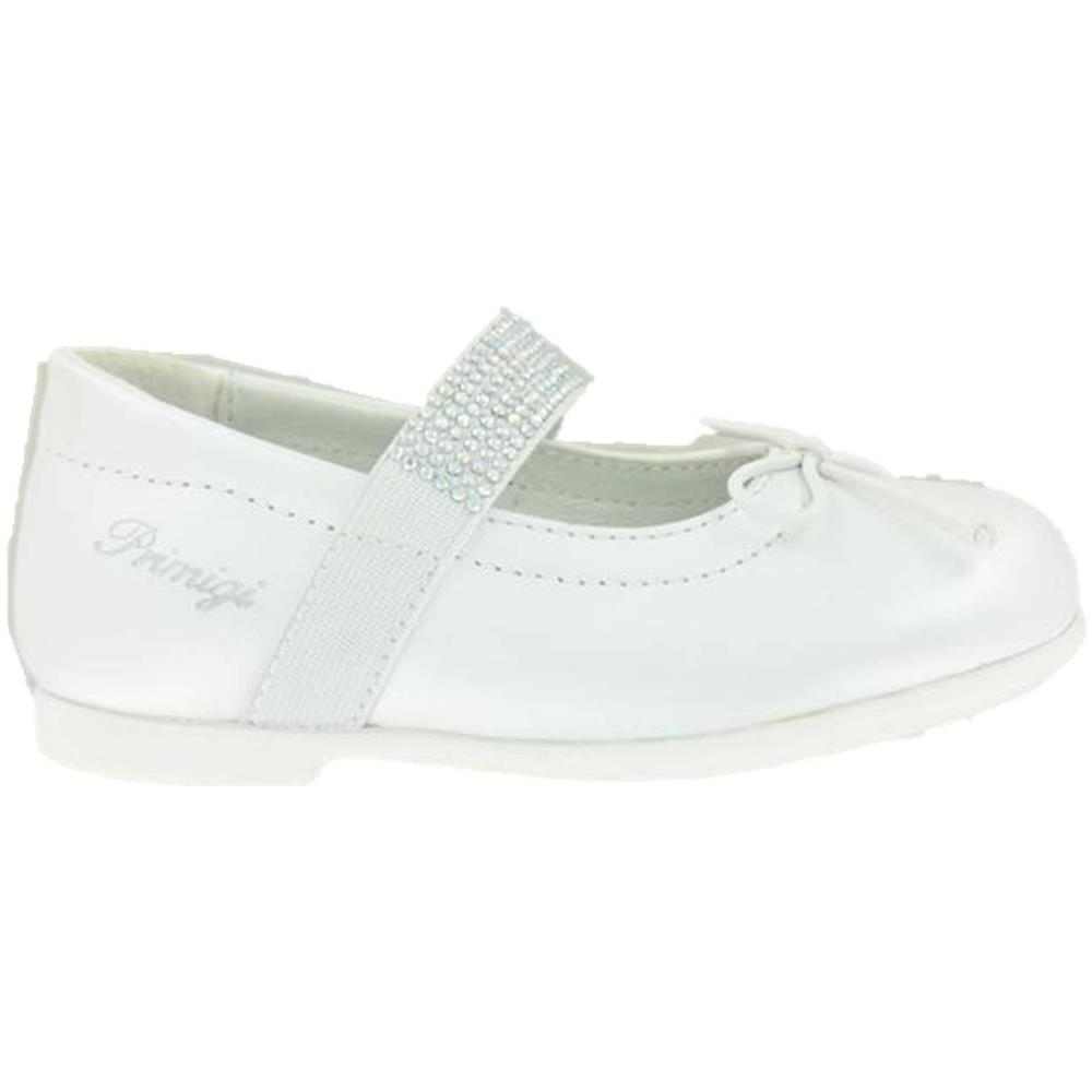 size 40 647b2 07dc1 PRIMIGI 3418211 Ballerine Scarpe Infant Bambina Cerimonia Primi Passi  Bianco 27