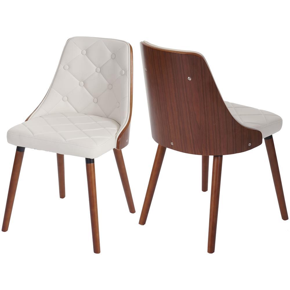 Mendler - Set 2x Sedie Sala da Pranzo / Soggiorno HWC-A75 Colore ...