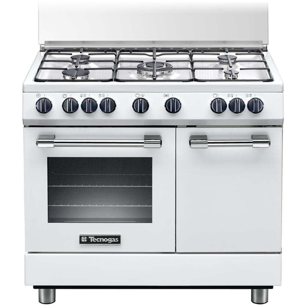 Tutte Le Immagini. TECNOGAS Cucina Elettrica PB965MW 5 Fuochi A Gas ...