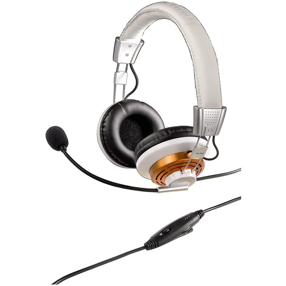 HAMA - Cuffia HS-320 Con Microfono Colore Bianco - ePRICE 6e3ff7967d53