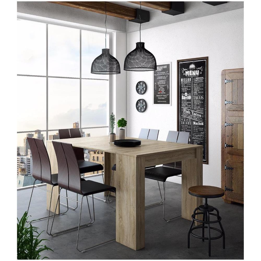 Dimensioni Tavolo Quadrato Per 4 Persone.Comfort Home Innovation Tavolo Consolle Per Sala Da Pranzo E