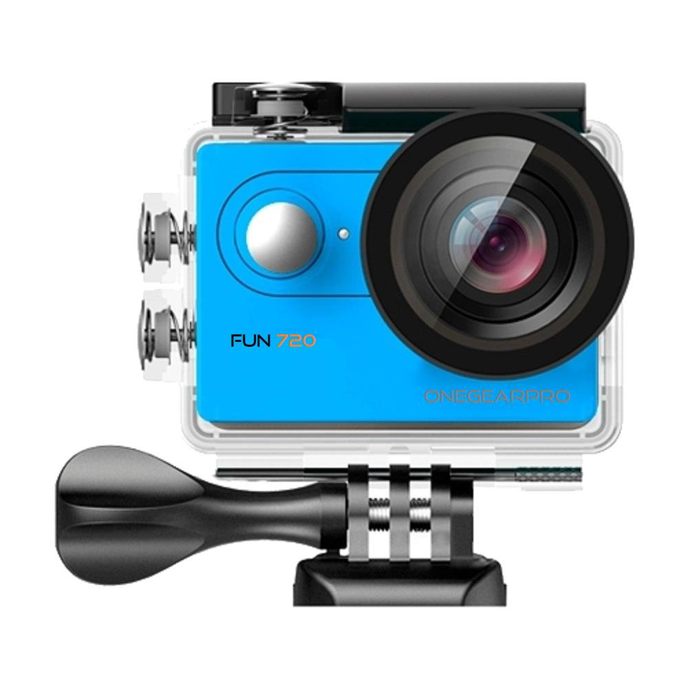 Action Cam SportCam Fun 720 HD 5 Mpx Impermeabile Colore Nero / Blu