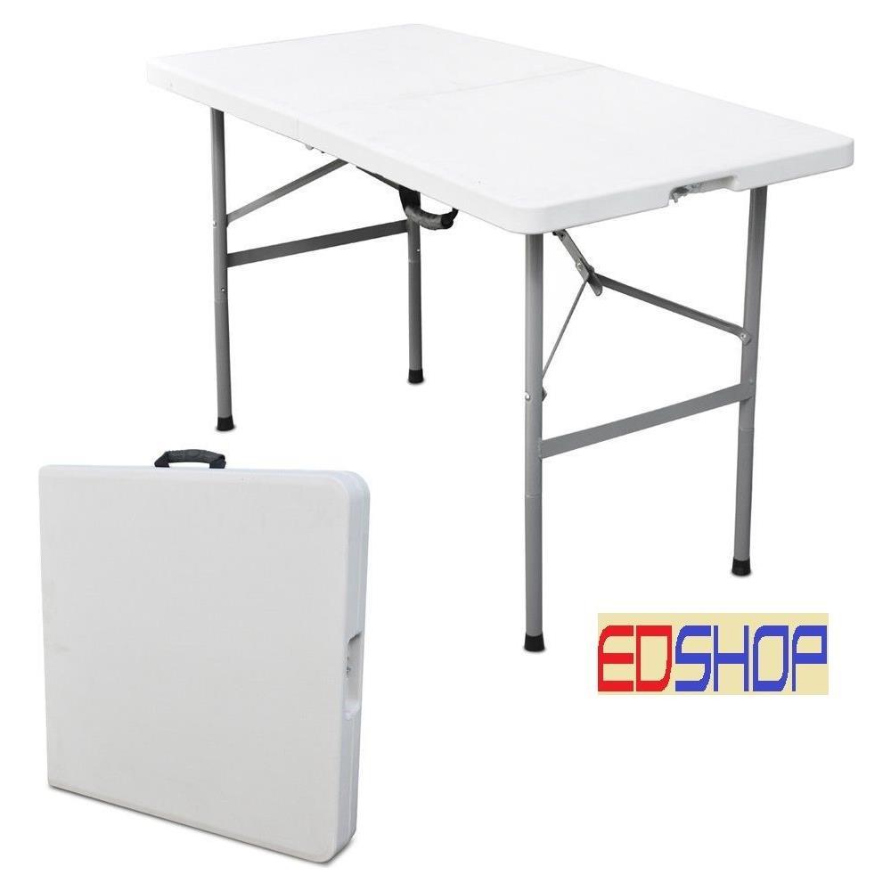 Vendita Tavolino Pieghevole.Cilvani Tavolo Tavolino Pieghevole Richiudibile Resina Metallo Sagre Fiere 122x60xh74