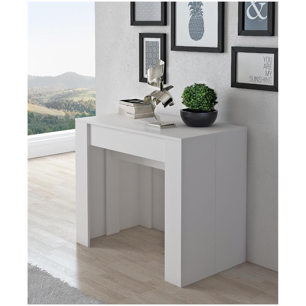 Consolle Scrivania Con Finiture Lucide.Comfort Home Innovation Tavolo Consolle Per Sala Da Pranzo E