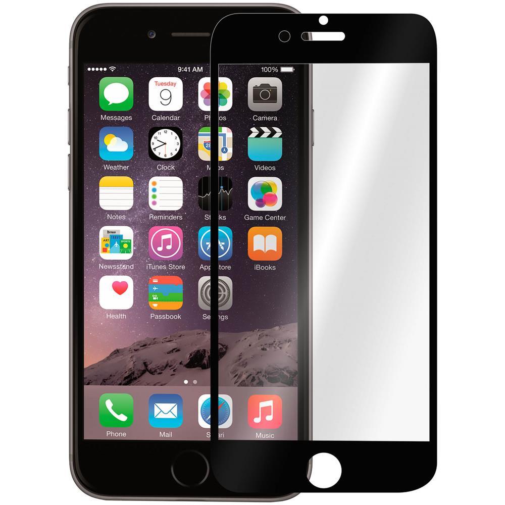 Avizar Pellicola Schermo In Vetro Temperato Per Apple Iphone 6 E 6s Nero Eprice