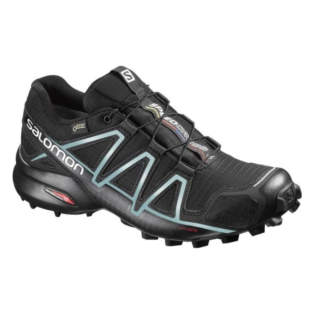 sports shoes 2f52f 2c50e Salomon Scarpe Trail Donna Speedcross 4 Gtx Gore 36,6 Nero Azzurro