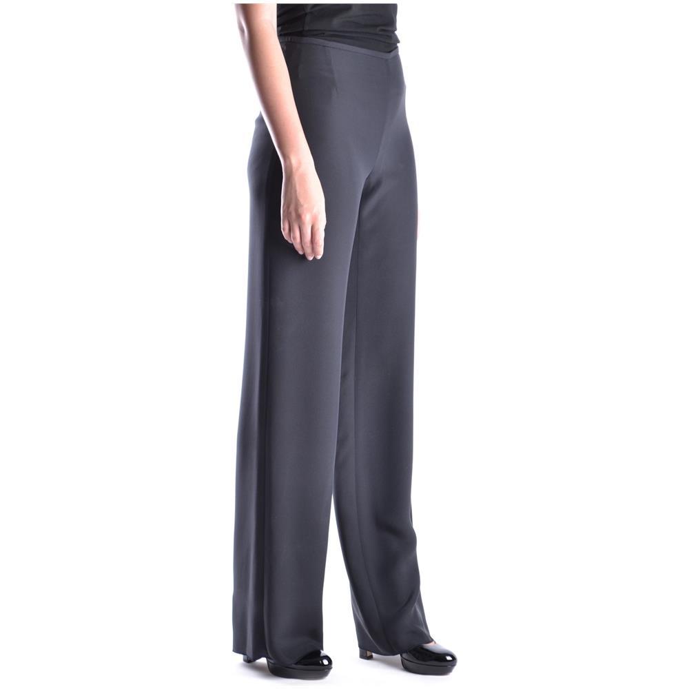 Armani Acetato Donna Pantaloni Nero Collezioni Taglia Mcbi024096o wwP47Axq