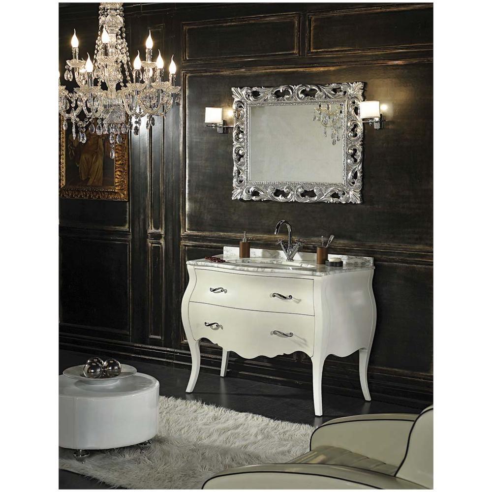 Kiamami Valentina - Mobile bagno barocco modello Lipari bianco - ePRICE