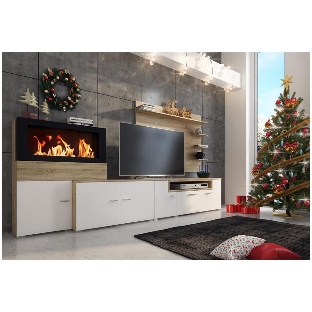 COMFORT - Home Innovation - Mobili Tv Parete Da Soggiorno E Pranzo ...