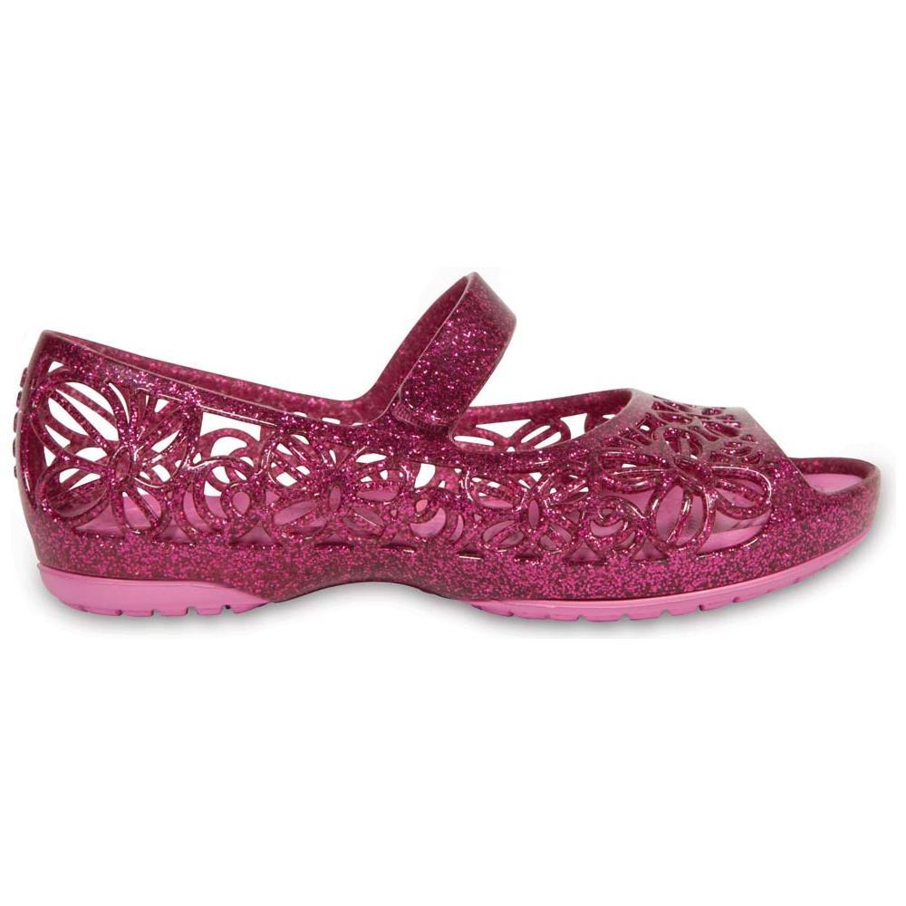 6bac7b622869 CROCS - Ciabatte Crocs Isabella Glitter Flat Ps Scarpe Ragazzi Eu 25 ...
