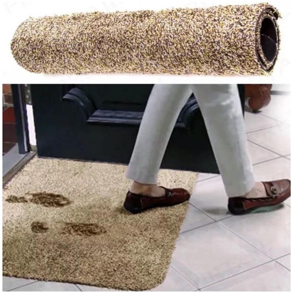 super assorbente. Zerbino da bagno antiscivolo per cani e gatti tappetino per interni ed esterni
