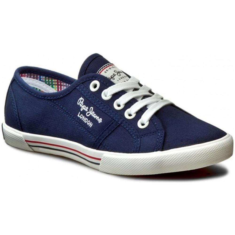 a1e7d3f612 PEPE JEANS Sneakers Pls30500 Aberlady Basic 17 Donna, Blu, 38