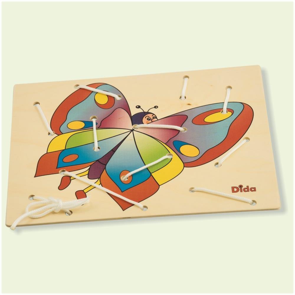 DIDA Allacciatura Farfalla Il Gioco Dei Lacci Per Sviluppare La Manualità Dei Bambini Attività Montessori
