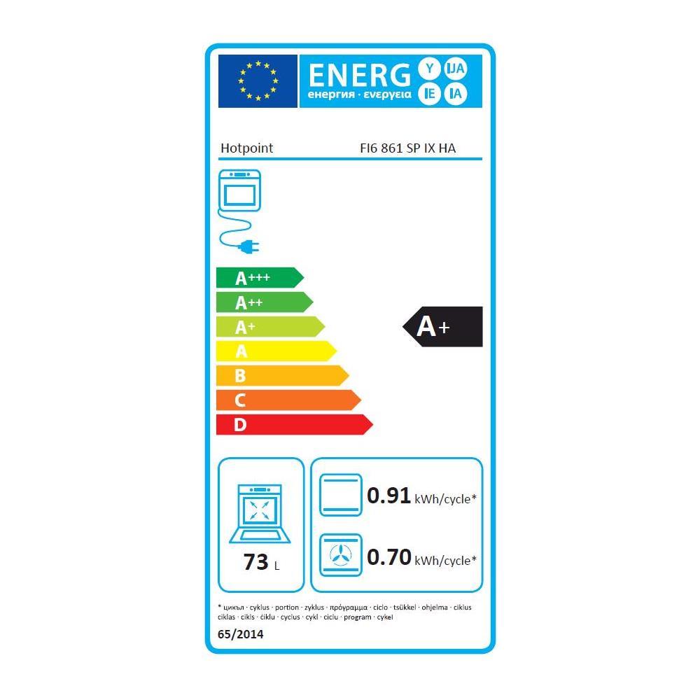 ELECTROLUX - Forno Elettrico da Incasso Quadro FQ53X Capacità 68 L ...
