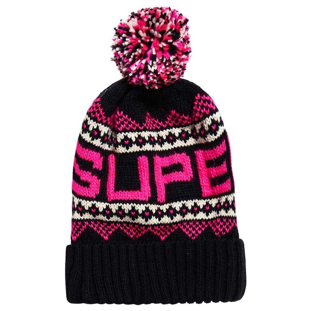 SUPERDRY Berretti E Cappelli Superdry Jenna Fairisle Beanie Accessori Donna  One Size. Zoom b5b731e77ea2