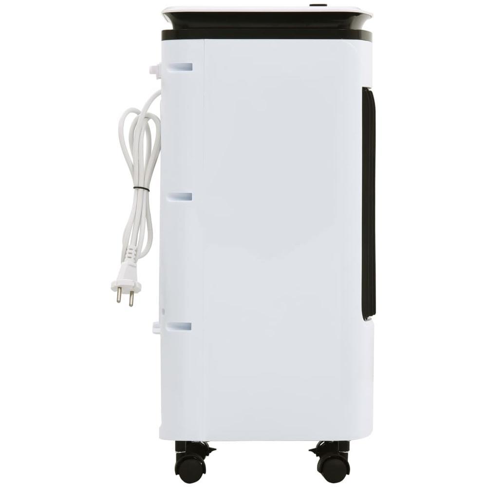 umidificatore e purificatore daria mini condizionatore portatile 3 in 1 Basiin mini refrigeratore USB con serbatoio dellacqua e 3 livelli di potenza 7 luci a LED per casa e ufficio