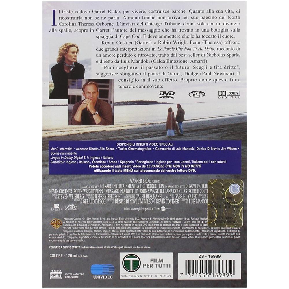 Warner Bros Le Parole Che Non Ti Ho Detto Dvd Eprice