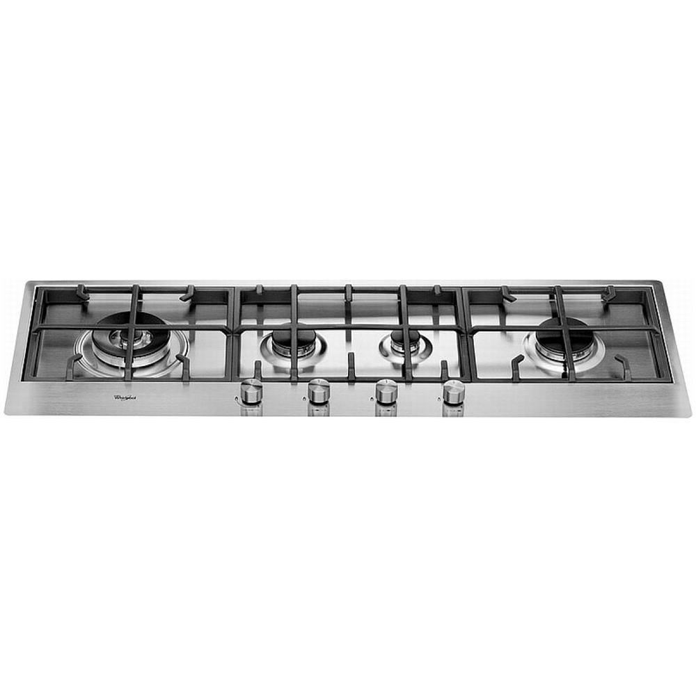 WHIRLPOOL - Piano Cottura AKM 299 / IX a Gas 4 Fuochi Gas Colore ...