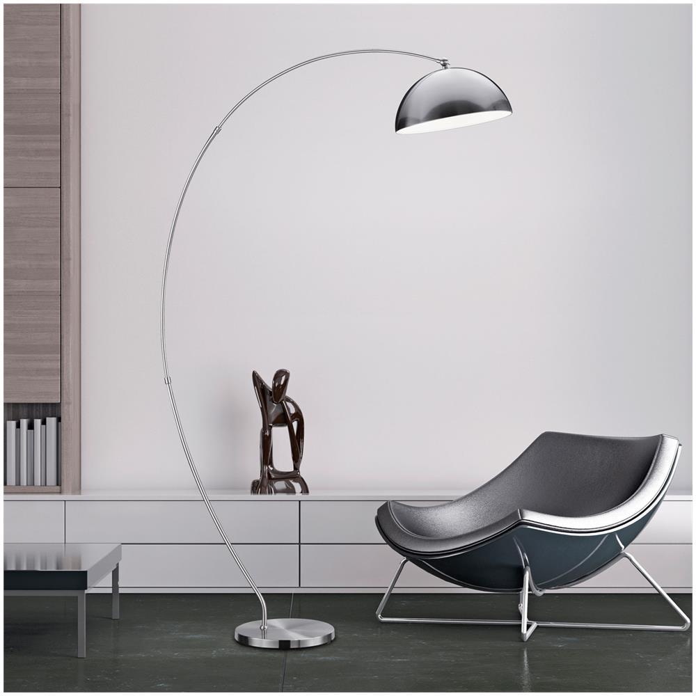 Mendler - Lampada Ad Arco Piantana Led Rl177 18w 183cm Metallo - ePRICE